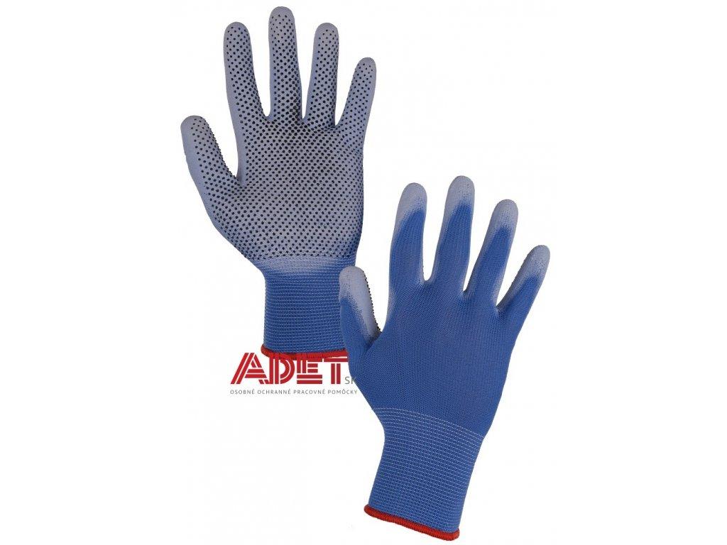 pracovne rukavice cxs brita dots 3440050400