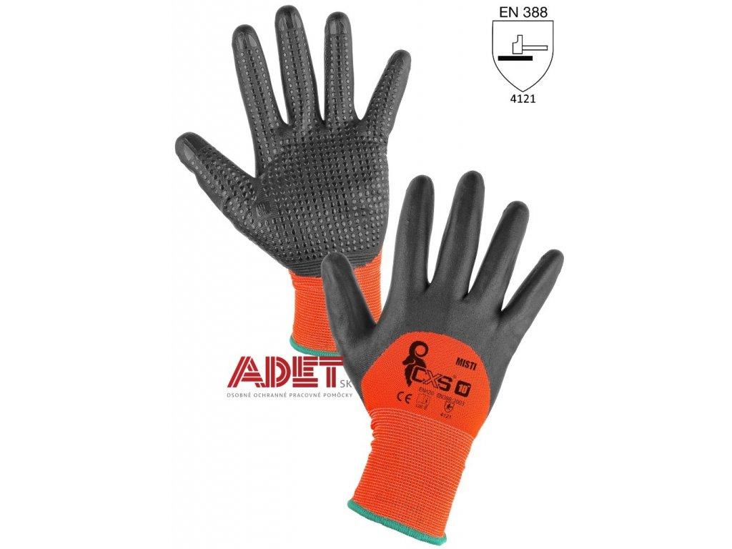 pracovne rukavice cxs misti 341008720900