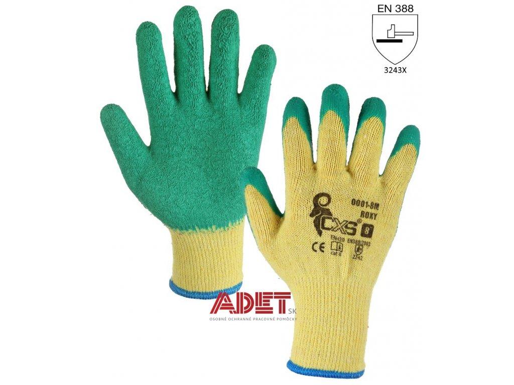 pracovne rukavice cxs roxy latexove 342000115700