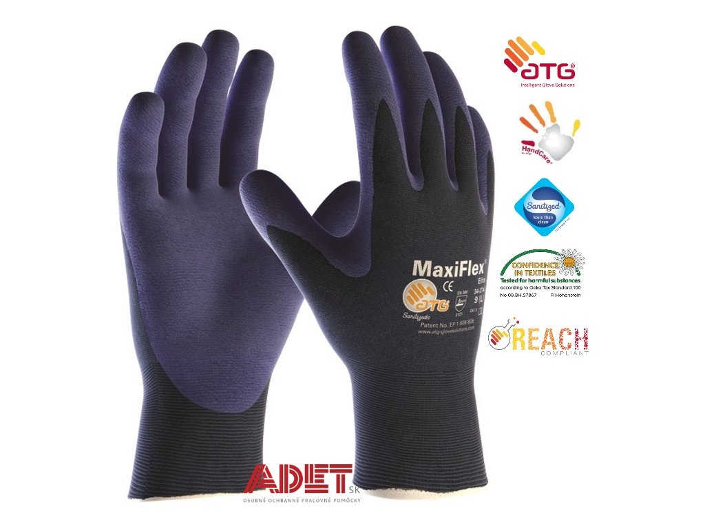 pracovne rukavice atg maxiflex elite 34274 a3099