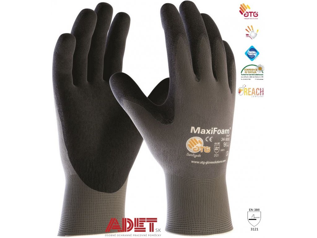 pracovne rukavice ardon atg maxifoam lite 34 900