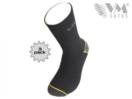 Pracovní froté ponožky (Velikost 43-46)