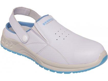 bennon white slipper Z31083 front 3