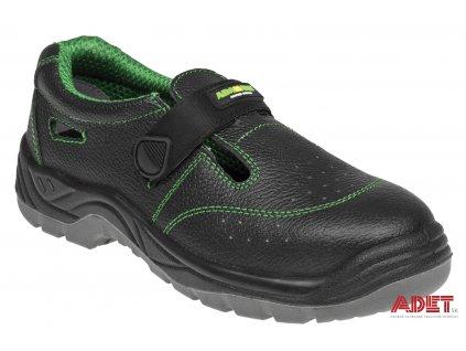 pracovna obuv adamant classic sandal C91023 front 3