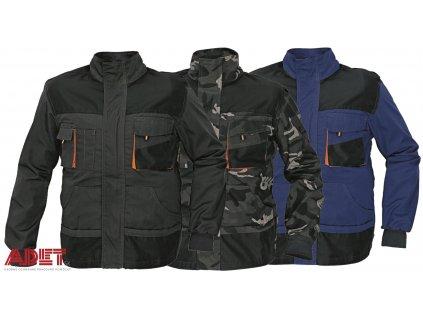 pracovna bunda cerva 03010046 EMERTON jacket navy 1