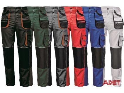 pracovne nohavice cerva carl be 01 003 03020167