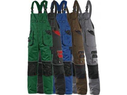 pracovne nohavice s naprsenkou cxs orion KRYŠTOF 1030003