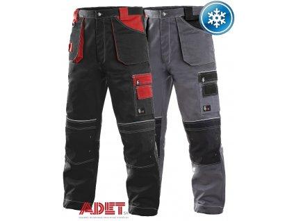 pracovne nohavice do pasa cxs orion TEODOR 1020004 zateplene