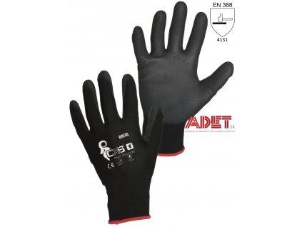 rukavice pracovne cxs brita black 344000180000