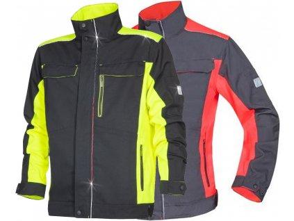 pracovna bluza ardon neon h6403 h6400 002