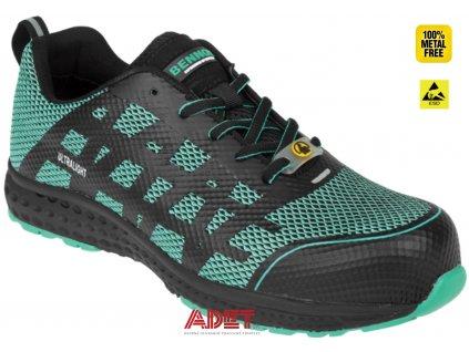 opracovna obuv z style bennon vectra s1 esd nm low z91126 001