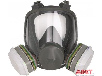 celotvarova maska 3m 6800 f3001