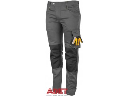 pracovne nohavice do pasa promacher erebos light grey