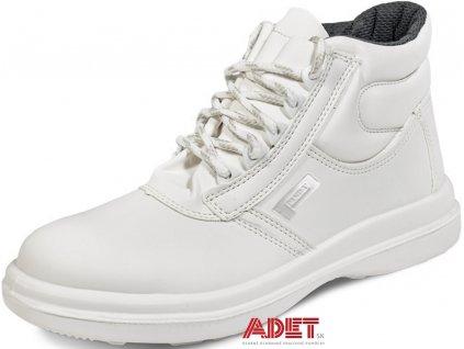 bezpecnostna clenkova obuv biela panda astura s1 src
