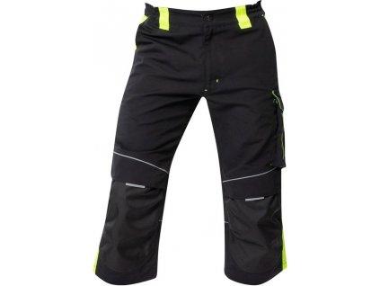 3 4 nohavice do pasa ardon neon cierno zlte h6520