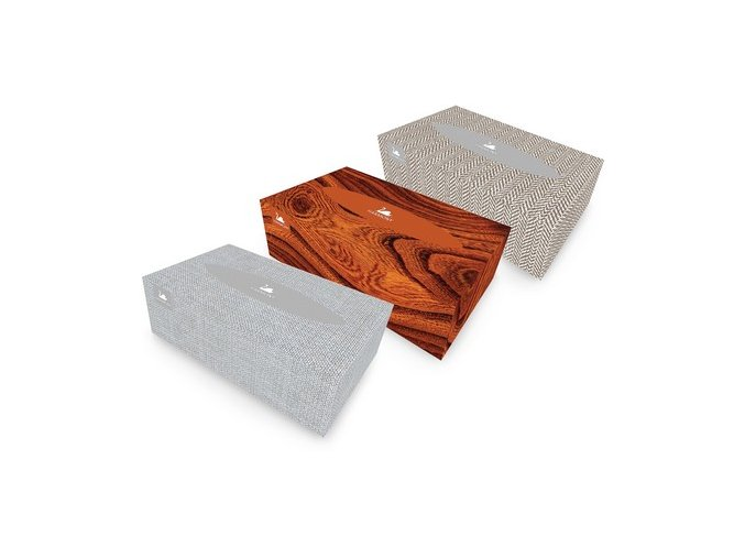 Papierové vreckovky v krabičke 150 ks, 2-vrstvové