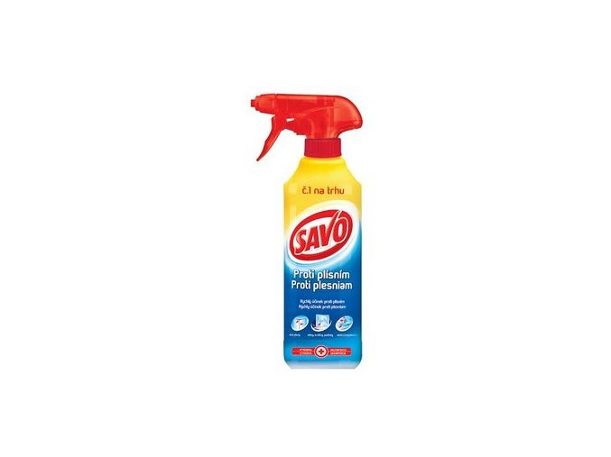 Dezinfekčný prostriedok SAVO  500 ml