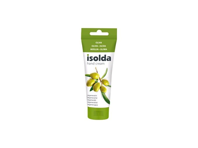 Krém na ruky ISOLDA oliva