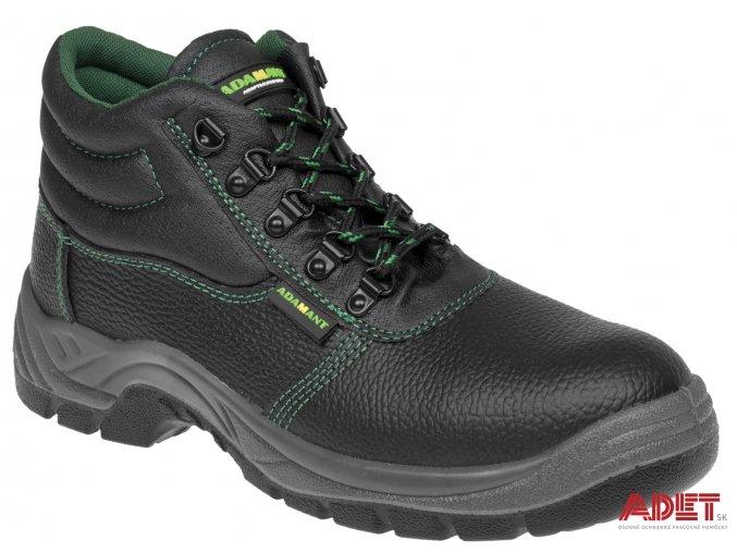 pracovna obuv adamant classic high C91221 front 3
