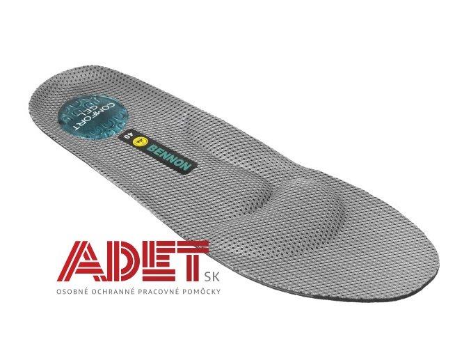 vkladacia stielka do obuvi bennon suprema gel insole D41401 front 1