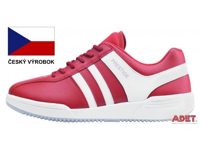 moleda sport low red M40020 30 profile 2 vlajka