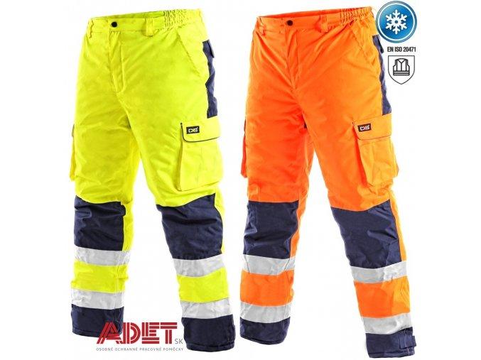 pracovne nohavice reflexne cxs cardiff 1111001