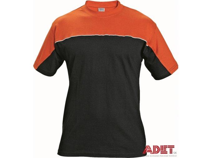 tricko pracovne kratky rukav cerva 03040003 EMERTON T shirt black