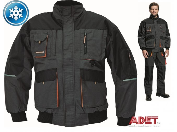 pracovna bunda pilot cerva 03010226 EMERTON PILOT WINTER JACKET 1