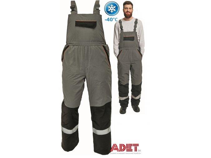 pracovne nohavice zimne s naprsenkou cerva 03020193 EMERTON WINTER BIBPANTS 2