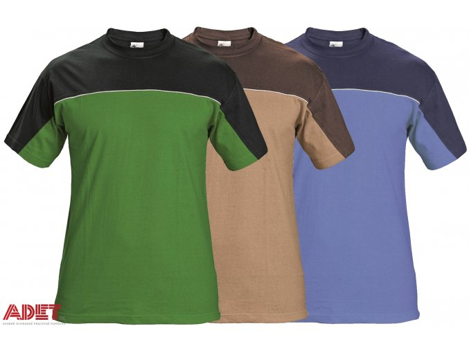 pracovne tricko kratky rukav cerva 03040004 STANMORE T shirt blue 1