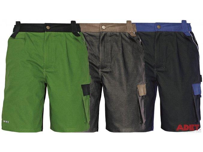 pracovne sortky cerva 03100007 STANMORE shorts blue 1