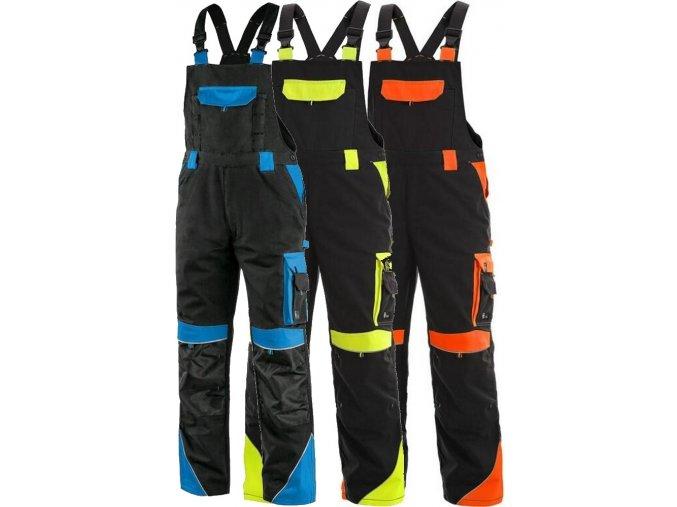 pracovne nohavice s naprsenkou cxs SIRIUS BRIGHTON 1030001