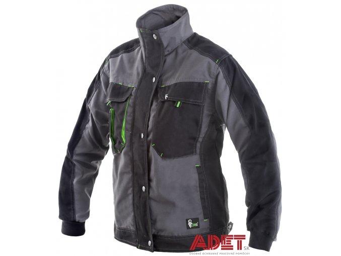 pracovna bluza cxs sirius NIKE 1010002708 damska sedo cierno zelena