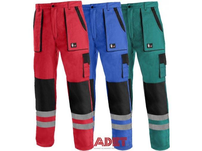 pracovne nohavice cxs luxy bright do pasa