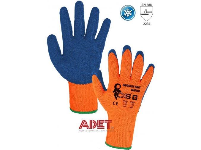 pracovne rukavice cxs zimne industry roxy winter 370007721010