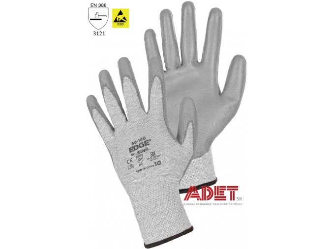 pracovne rukavice cxs ansell edge 48 140 367002170000
