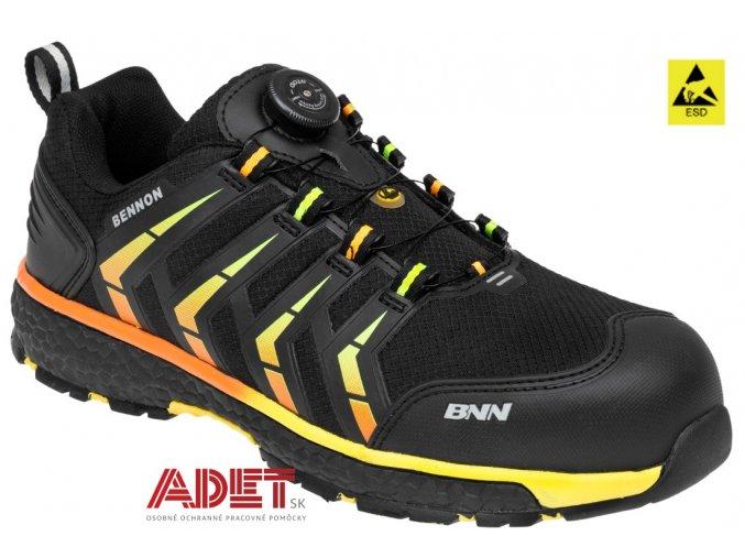 pracovna obuv bnn stinger s3 esd atop low z83102 front