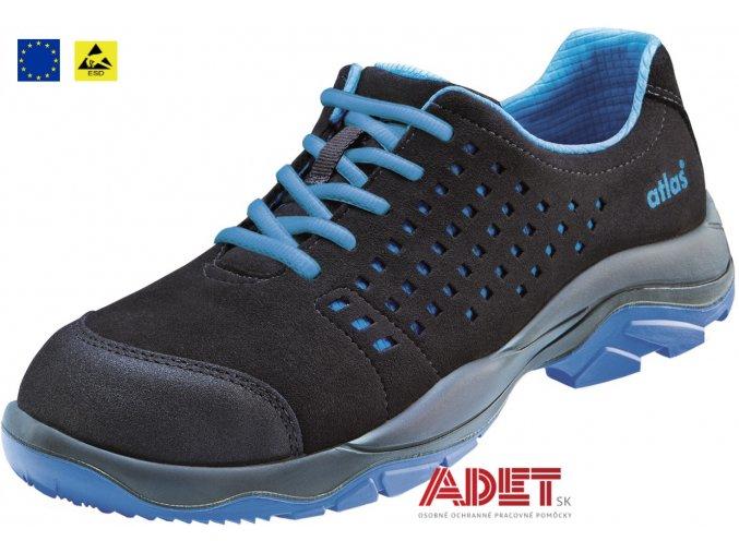 pracovna obuv cxs atlas sl 405 blue esd s1p 212603580600