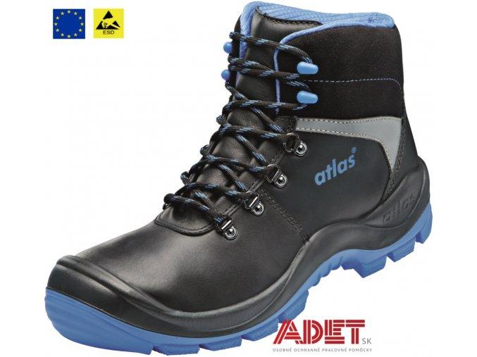 pracovna obuv cxs atlas sl 525 blue esd s3 211809780600