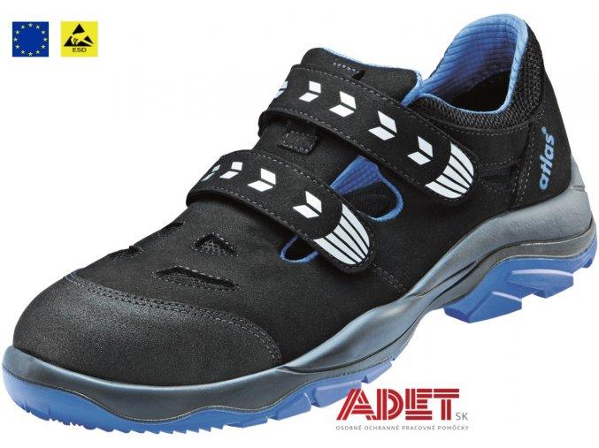 pracovna obuv cxs atlas sl 46 blue esd s1 212503480000