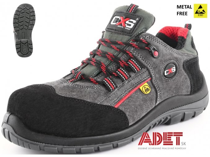pracovna obuv cxs esd rock graphite s1p 212500270000