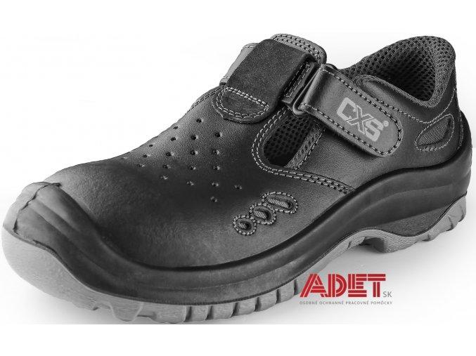 pracovna obuv cxs safety steel iron s1 212400180000