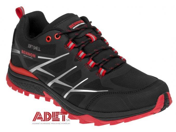 pracovna obuv bnn calibro red low z80105 front