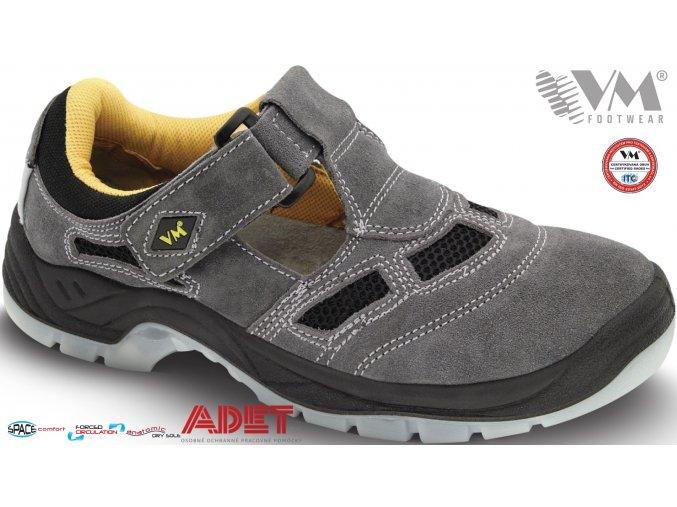 pracovna obuv vm bern 2885 s1 sede