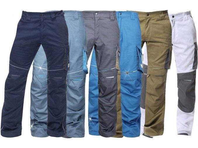 pracovne nohavice ardon summer sive h6101 003