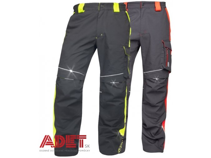 pracovne nohavice ardon neon h6404 h6401 001