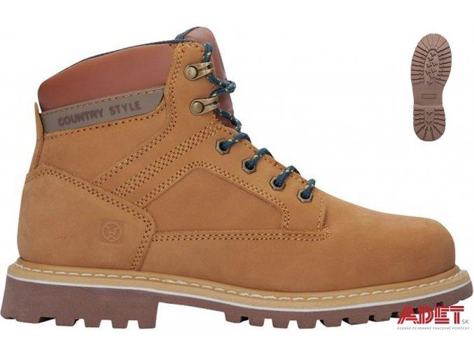 pracovna obuv ardon farm high ob hnede g4045