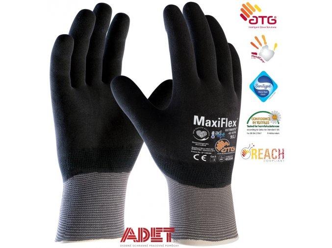 pracovne rukavice ardon atg maxiflex ultimate 42 876