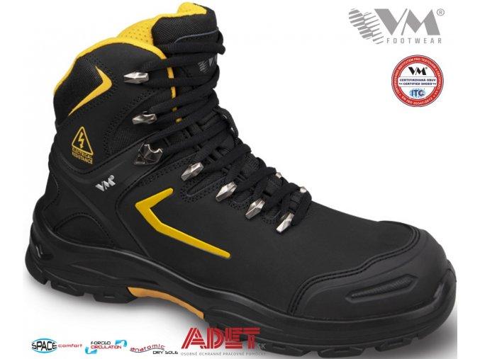 pracovna obuv vm dielectric washington s3 6400