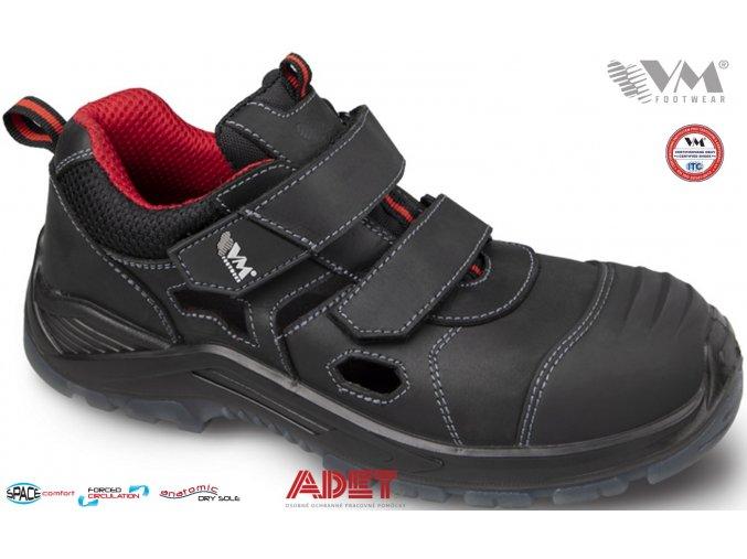 pracovna obuv vm haag 5335 s1p